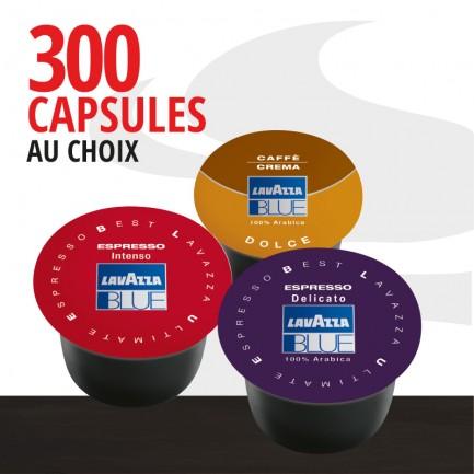 Pack 300 capsules Blue