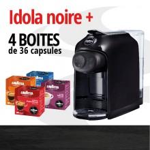 IDOLA NOIRE + 4 BOITES DE 36 CAPSULES