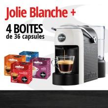 JOLIE BANCHE ET 4 BOITES DE 36 CAPSULES